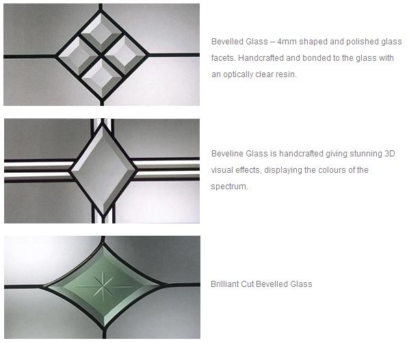 Bevelled Glass Options
