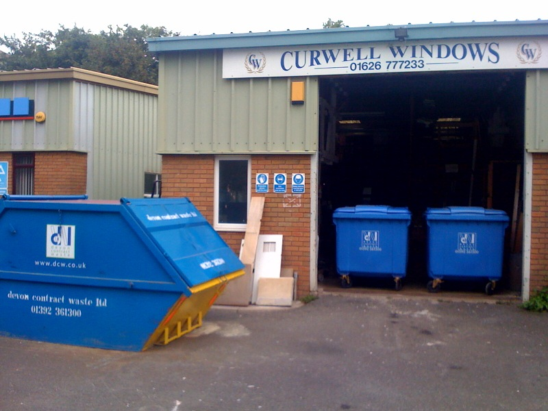 Devon Contract Waste & Curwell Windows