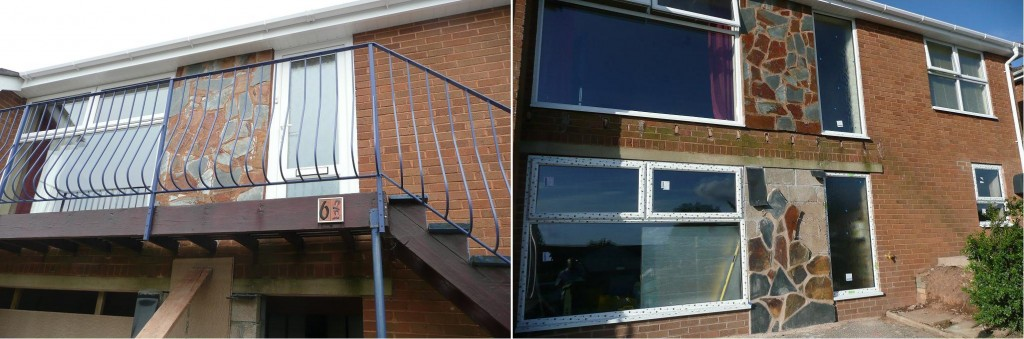 Removal of Balcony & Slate Render