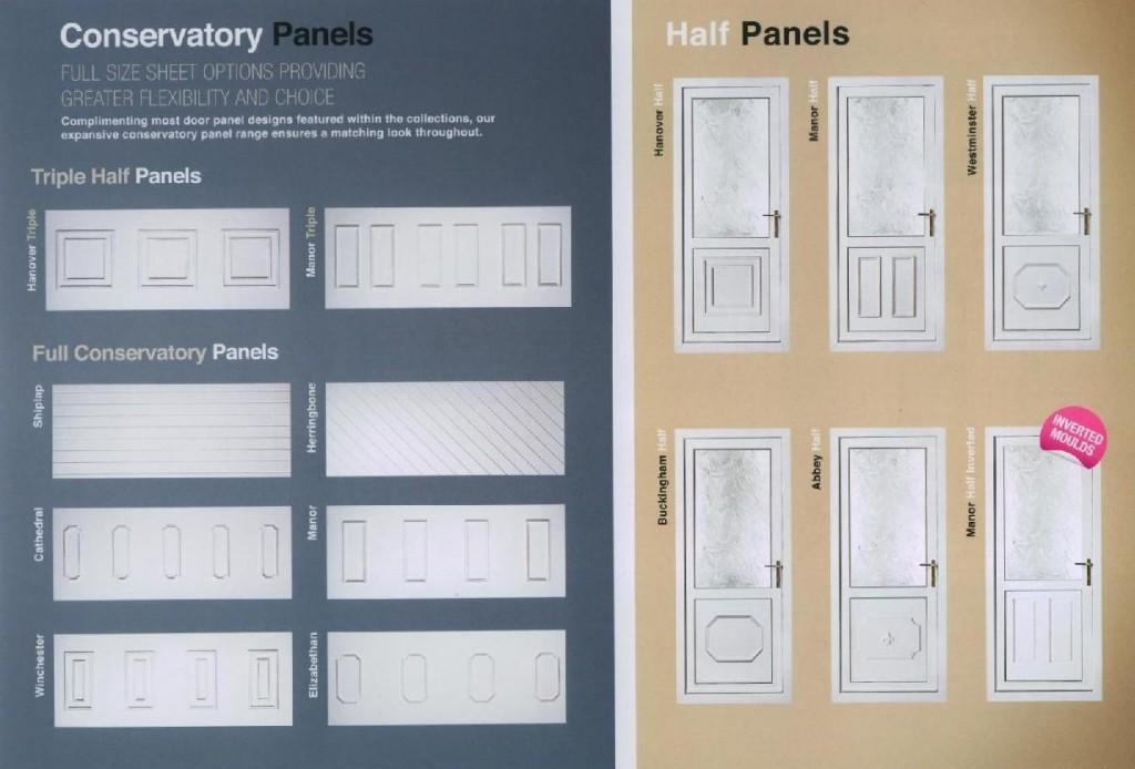 Conservatory & Half Panels