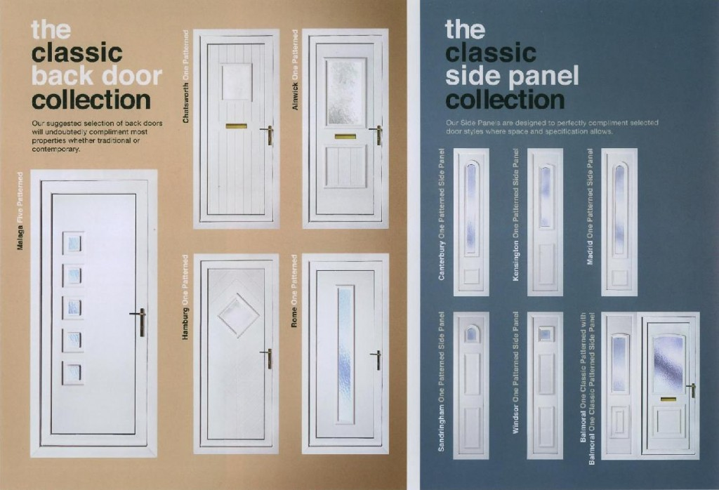 The Classic Back Door & Side Panel Collection
