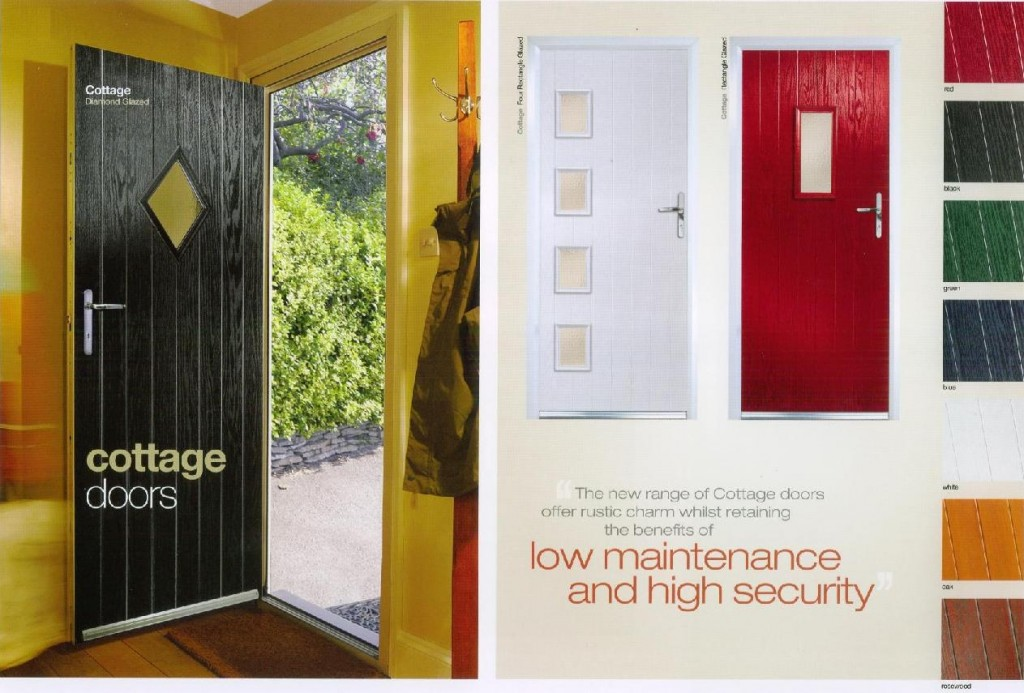 The Composite Cottage Doors