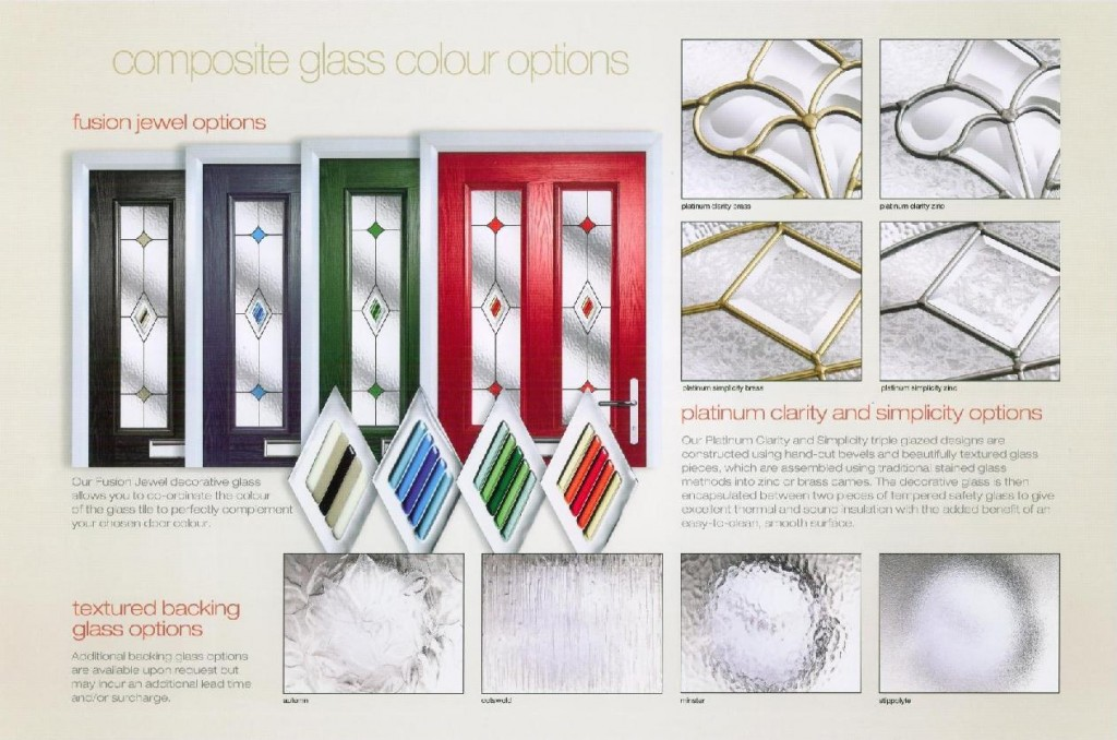 The Composite Glass Colour Collection