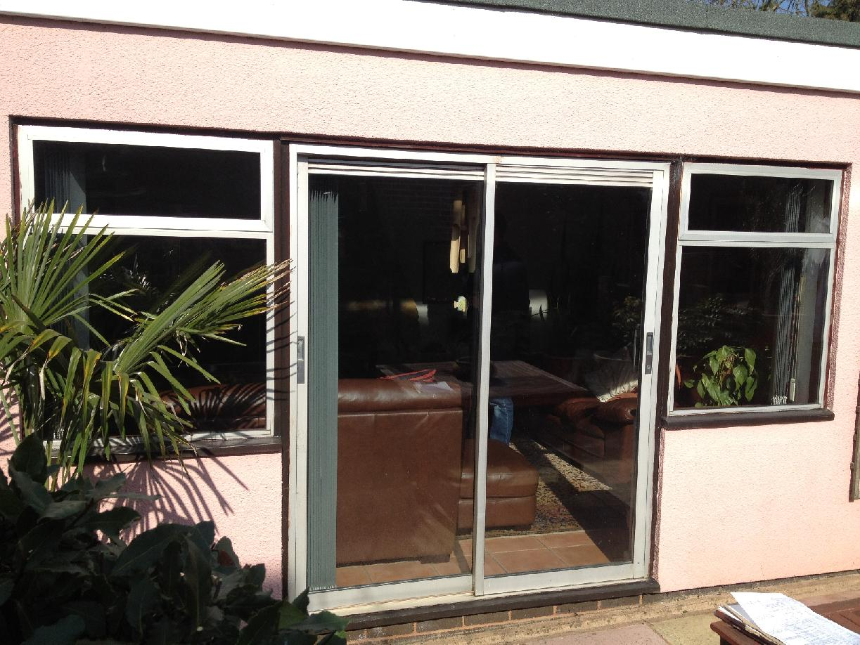 Old Patio Door Outside View