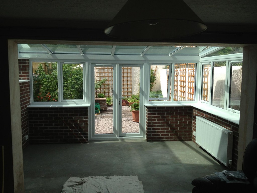 Finished Conservatory Internal View