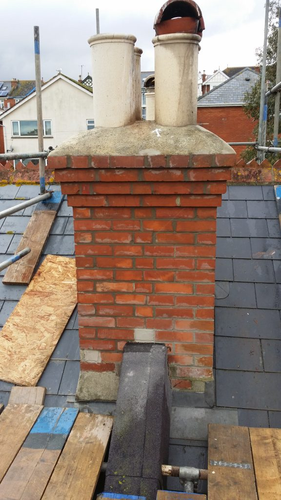 Repaired Chimney Stack
