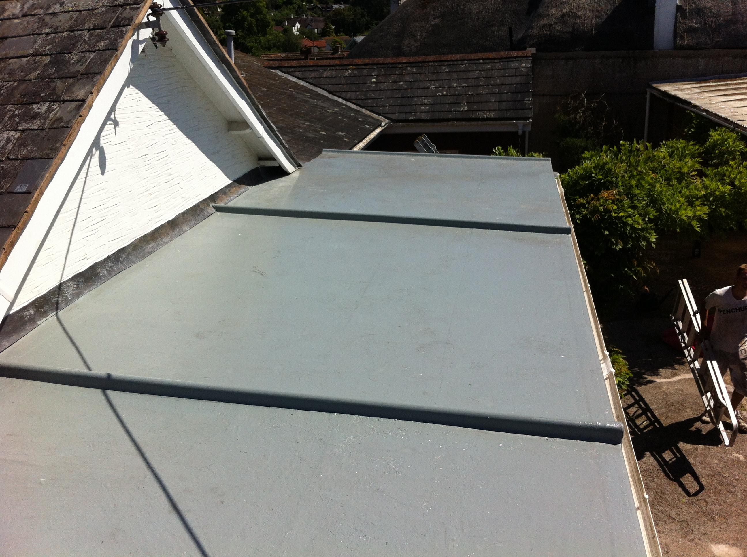 Grp Fibreglass Flat Roofing Curwell Windows Ltd